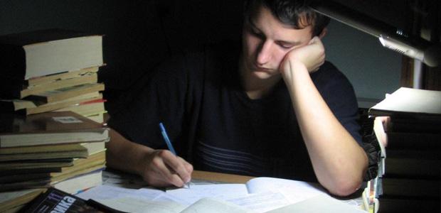 второй день подготовки к экзамену
