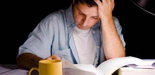 первый день подготовки к экзамену